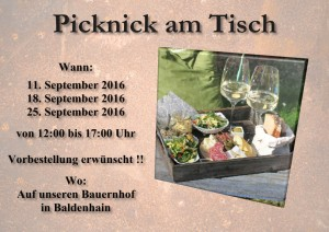picknick September